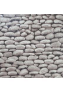 Kit 2 Rolos De Papel De Parede Fwb Lavável 3D Pedra Natural Rustico