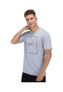 Camiseta O'Neill Estampada Slasher - Masculina - Cinza
