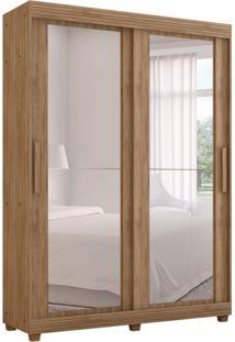 Guarda-Roupa Casal Com Espelho Assis 2 Pt 3 Gv Carvalho