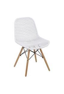 Cadeira Eloisa Branca Rivatti