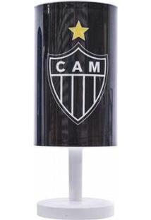 Luminária Abajur Atlético Mineiro - Unissex