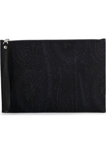 Etro Clutch Envelope - Azul
