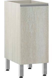 Módulo Cozinha Balcão Sem Tampo Lis 1 Porta - 35Cm - 2561/173 - Legno Crema - Prime Plus - Luciane