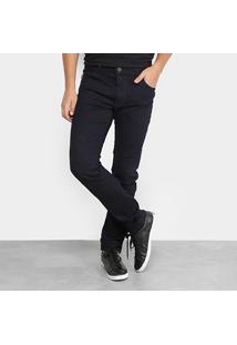 Calça Jeans Skinny Coca-Cola Blue Masculina - Masculino-Jeans