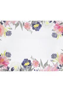 Jogo Americano Floral Navy Blush Lola Home Estampada - Multicolorido - Dafiti