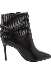 Bota Salto Rock Glam Black | Schutz