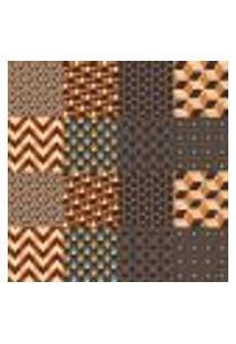 Papel De Parede Autocolante Rolo 0,58 X 3M - Azulejo Cubos Zigzag 285363104