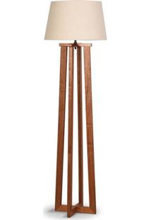 Luminária De Chão Com Cúpula 1,74Cm Imbuia 250.03 Trevisan