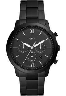 6f7438d9503 ... Relógio Fossil Masculino Neutra Chrono Preto Fs5474 1Pn