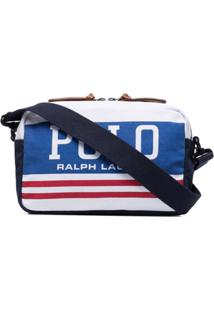 Polo Ralph Lauren Bolsa Transversal Com Estampa De Logo - Branco