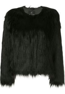 Unreal Fur Jaqueta 'Unreal Dream' - Preto
