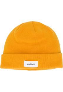 Soulland Gorro Villy Com Duas Camadas - Amarelo