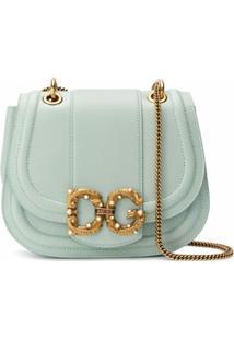 Dolce & Gabbana Bolsa Transversal Dg Amore - Verde
