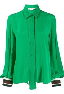 Golden Goose Blusa Com Vazados - Verde