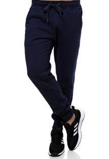 Calça Moletom Masculina Federal Art Azul Marinho
