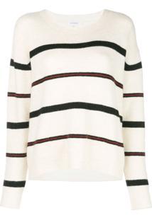 Frame Suéter Listrado - Branco