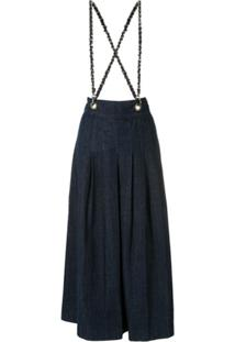 Andrea Bogosian Salopete Jeans Sanford - Azul