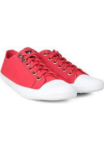 Sapatênis Calvin Klein Lona Ck Masculino - Masculino-Vermelho