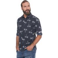 a6d62dac8 Camisa Azul Marinho Colcci masculina | El Hombre