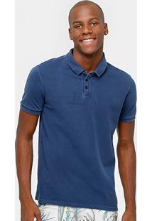 Camisa Polo Calvin Klein Piquet Tinturada Masculina - Masculino