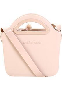 Bolsa Petite Jolie Mini Bag Fosca Flix Ii Feminina - Feminino-Rosa Claro