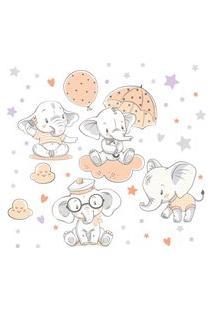 Adesivo De Parede Elefante Bebê Para Quarto Infantil