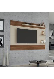 Painel Para Tv Até 72 Polegadas Mirage Off White