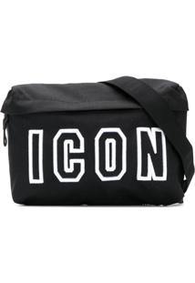 Dsquared2 Pochete 'Icon' - Preto