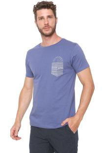 Camiseta Yacht Master Com Bolso Azul