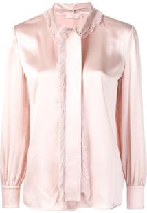 Tory Burch Blusa Com Modelagem Solta - Rosa