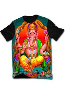 Camiseta Manga Curta Stompy Psicodelica 60 Preto