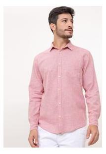 Camisa Manga Longa Comfort Em Linho