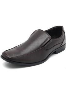 Sapato Broken Rules Recortes Marrom