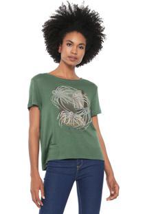 Camiseta Forum Glimpse Verde