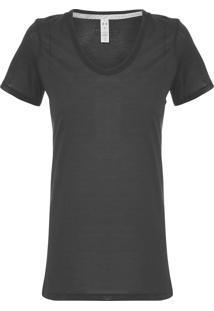 Camiseta Feminina Threadborne Streacket - Preto