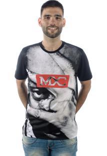 Camiseta Multcaps Mxc 020 Preto
