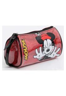 Necessaire Feminina Estampa Minnie Disney