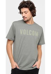 Camiseta Volcom Silk Trucky Masculina - Masculino