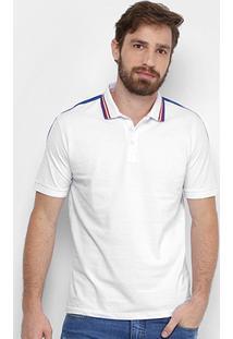 Camisa Polo Calvin Klein Piquet Frisos Masculina - Masculino