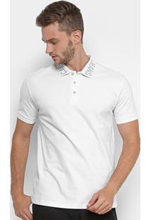 Camisa Polo Calvin Klein Gola Personalizada Masculina - Masculino