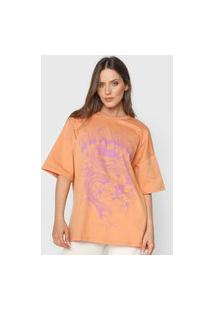 Camiseta Colcci Untamed Soul Laranja