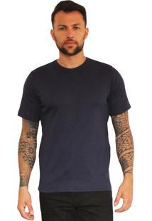 Camiseta Versatti Fram Azu-Marinho