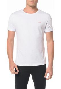 Camiseta Básica Slim Micro Estampa - M