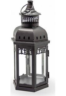 Luminaria Para Velas Com Vidro Torre Decor E Casa 1289