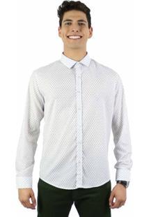 Camisa Norfolk Com Estampa Geométrica - Masculino