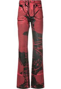 ... Calvin Klein 205W39Nyc Calça Jeans Pintada - Vermelho d36ab44fe11