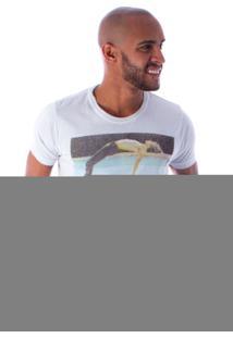 Camiseta Bossa Decote Canoa Bowl Cinza