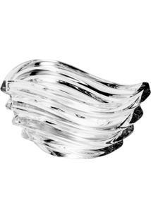 Fruteira De Vidro Sodo-Cálcico Com Titanio Wave 16,5Cm - Unissex