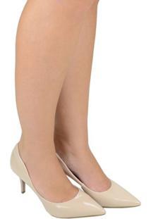 Sapato Feminino Scarpin Di Vaio Nude