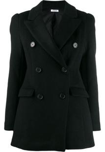 P.A.R.O.S.H. Double-Breasted Jacket - Preto
